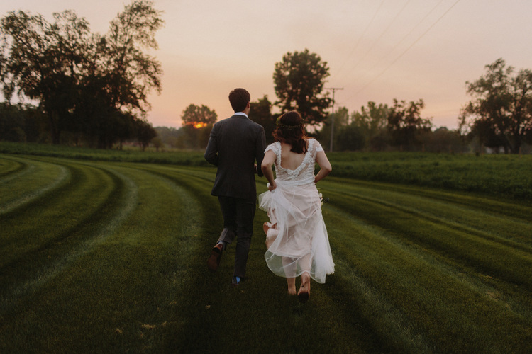 michigan farm wedding