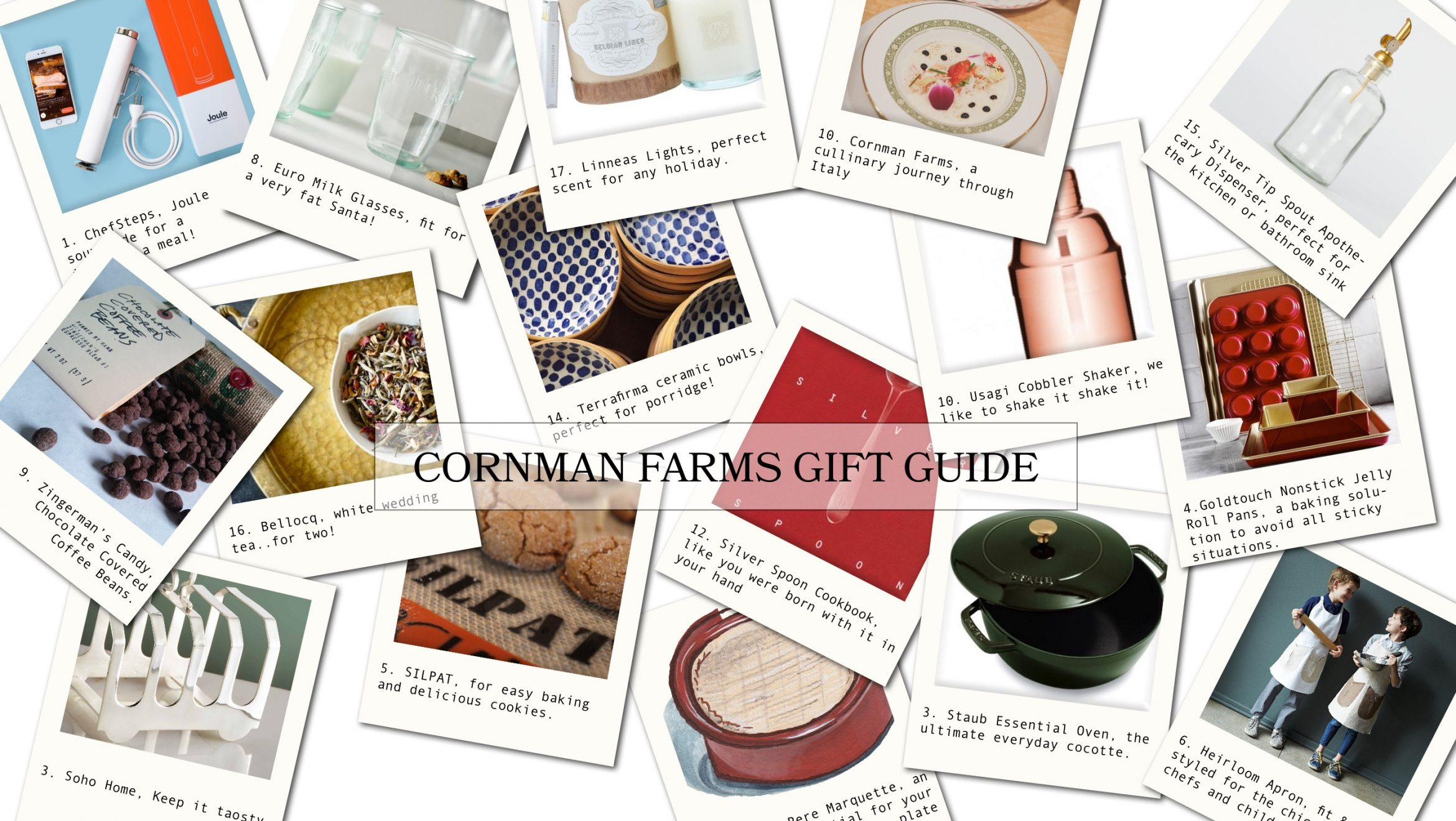 Cornman Farms' Recipes for Holiday Gift Giving