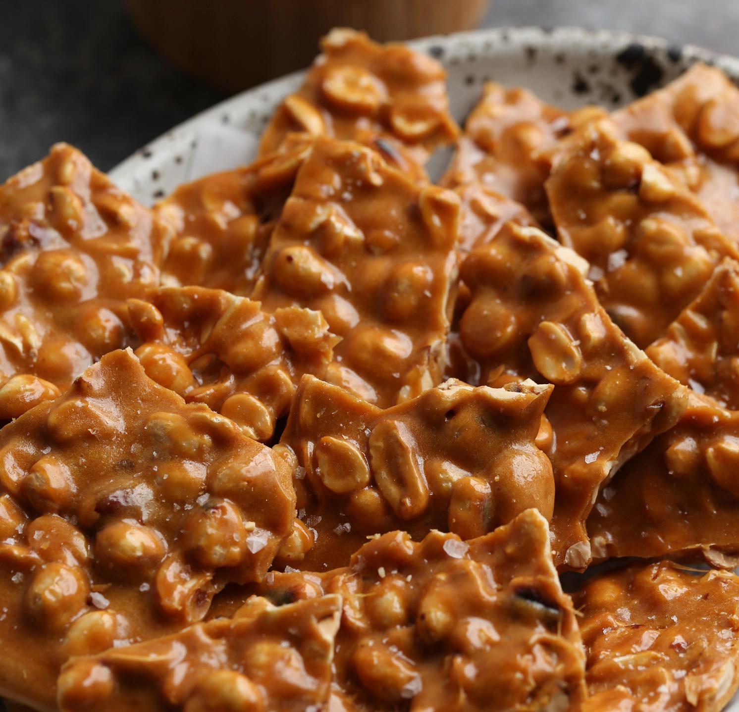 Chocolate Peanut Brittle Pancake Recipe