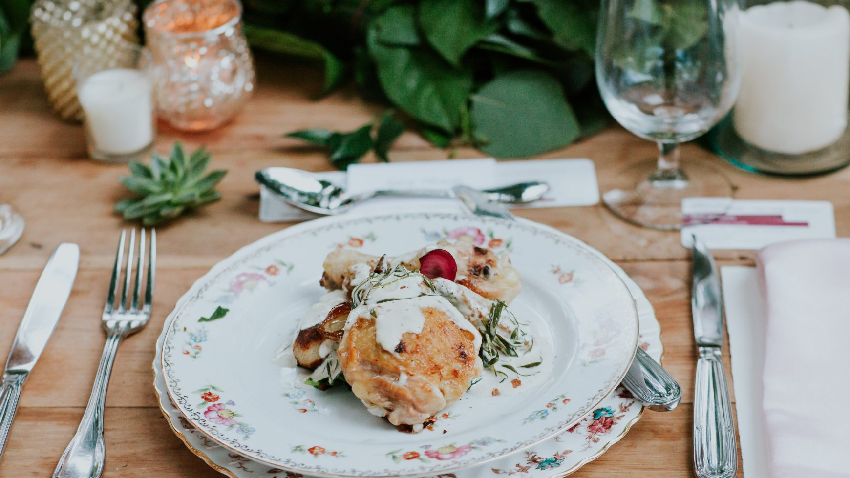 6 Tips For Choosing Your Wedding Menu